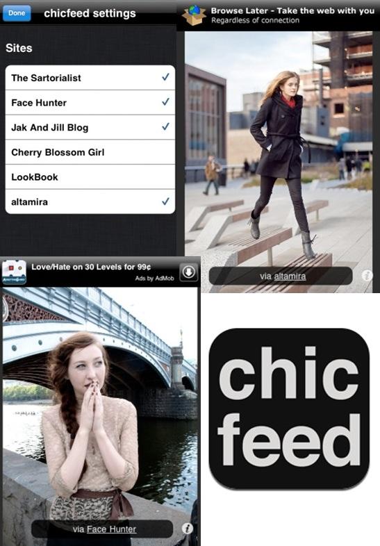 chic feed app