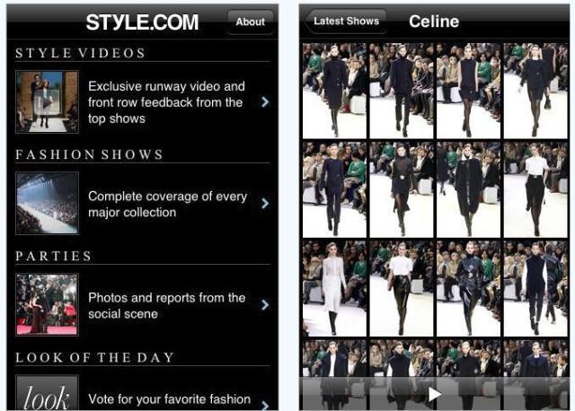 style.com app