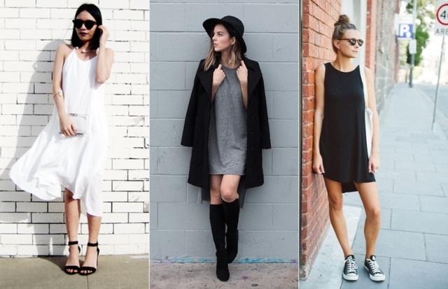 look-minimalista-vestido